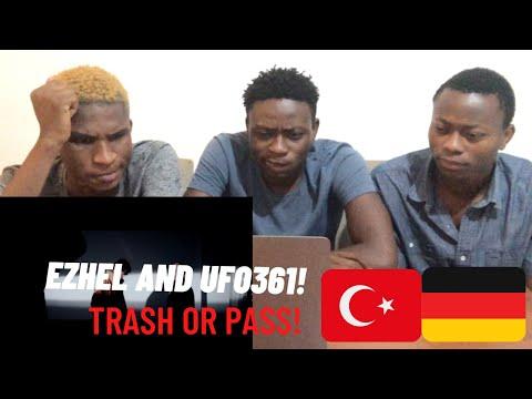 "NIGERIANS REACTING TO EZHEL AND UFO361 ""Wir sind Kral"" | Turkish and German rap | (Türkçe altyazı)"
