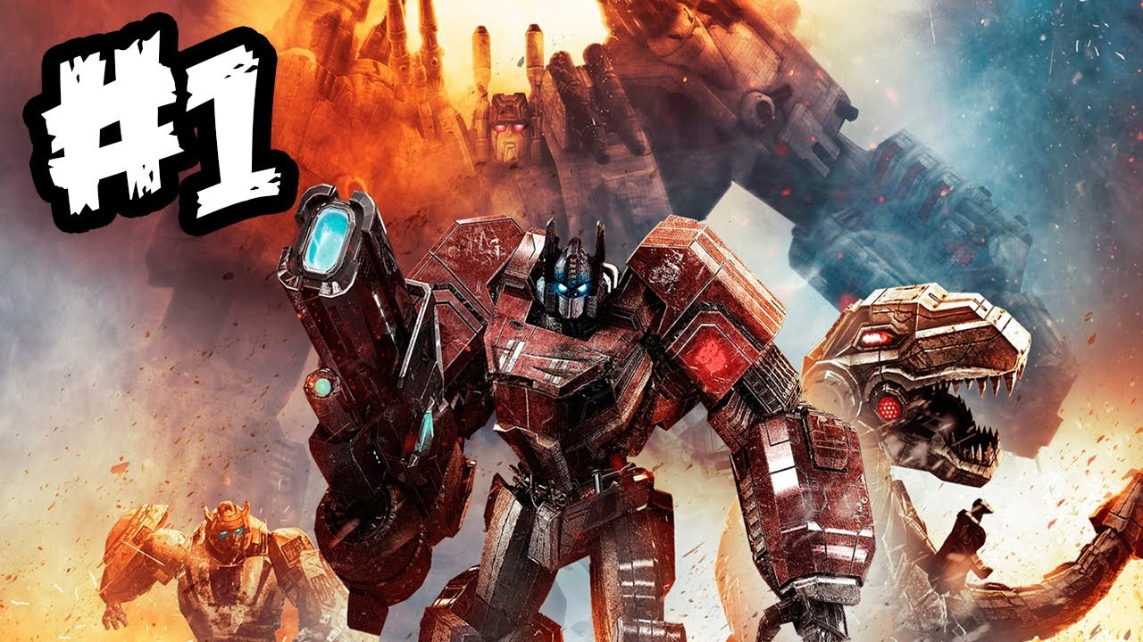 transformers fall of cybertron gameplay walkthrough part 1 war