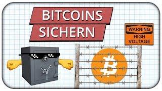 Wie du Bitcoins & Kryptowährungen richtig sichern kannst  - Mein Wallet System 👊