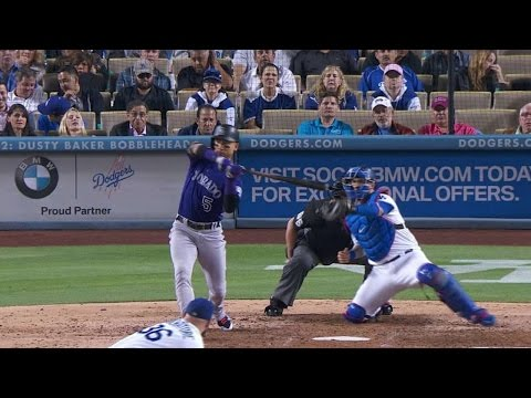 COL@LAD: Liberatore fans CarGo with bases loaded