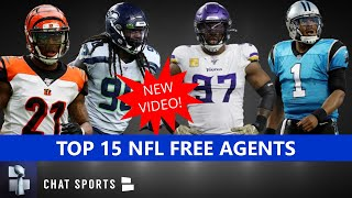 Top 15 NFL Free Agents In 2020 - Still Available In Free Agency Following The NFL Draft