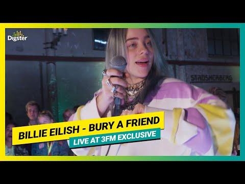 Billie Eilish - Bury A Friend | Live At 3FM Exclusive