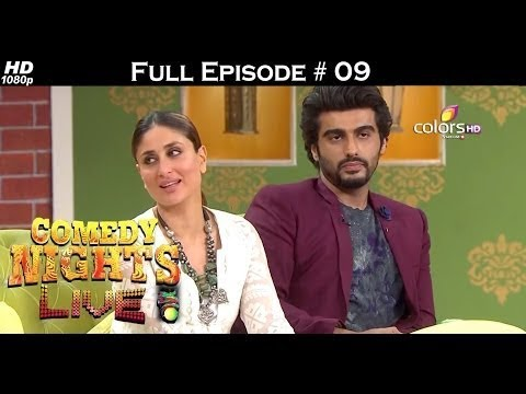 Comedy Nights Live - Arjun Kapoor & Kareena Kapoor Khan - 27th March 2016 - Full Episode (HD)