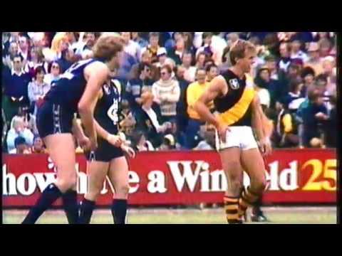 1983 VFL Round 1 - Carlton vs Richmond