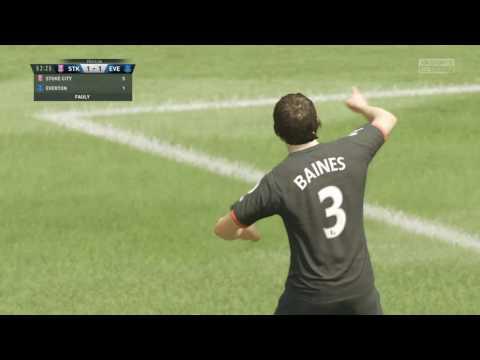 FIFA 17 - Leighton Baines - Everton FC - Free Kick