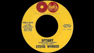 Stevie Wonder ~ Uptight Everything's Alright 1965 Soul Purrfection Version