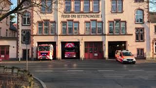 Frankfurt Station two - Fire Responding.