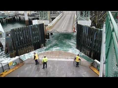 Ferry Ride From Seattle To Bainbridge Island Aboard The MV Tacoma - (February 21, 2013)
