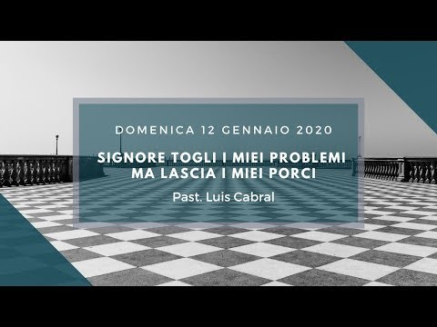Domenica 12 Gennaio 2020 Luis Cabral