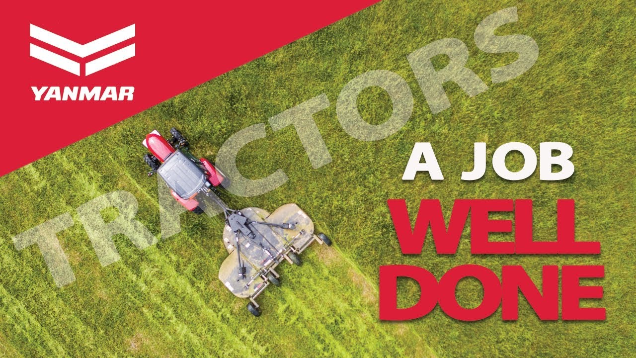 Yanmar Compact Tractor, A Job Well Done - Yanmar Tractor