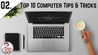 Top 10 Best Computer tips and tricks 2017 | Hindi |