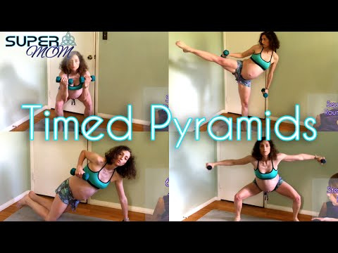 Total Body Tabata Timed Pyramid Intervals With Weights 30 Minute Workout