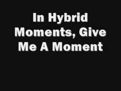 Misfits - Hybrid Moments (Lyrics)
