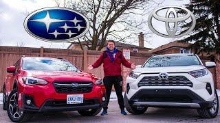 2020 Toyota RAV4 against 2020 Subaru Crosstrek | Here's Why You Shouldn't Pick The Toyota RAV4