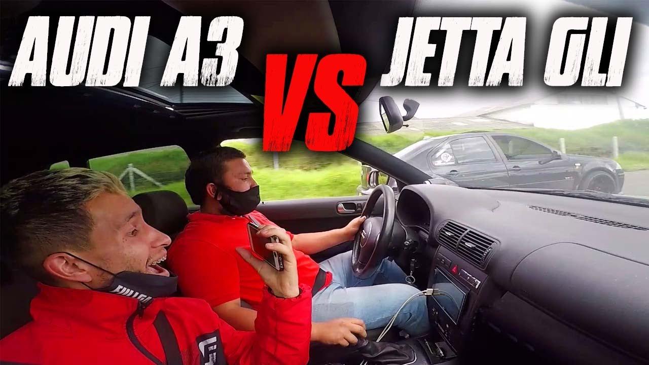 Jetta GLI VS Audi A3 Drag Race