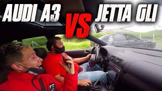 Jetta GLI VS Audi A3 Drag Race