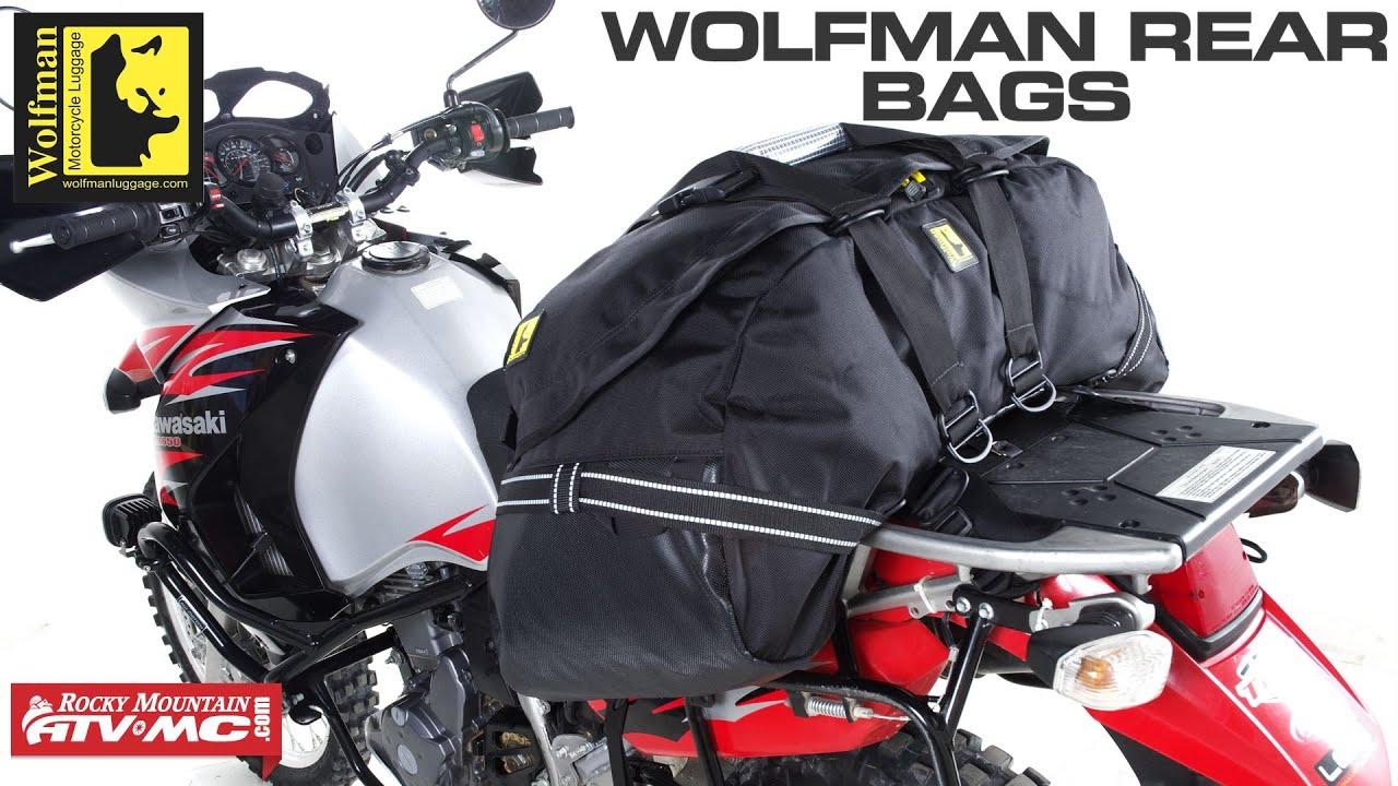 Wolfman Rear Bags