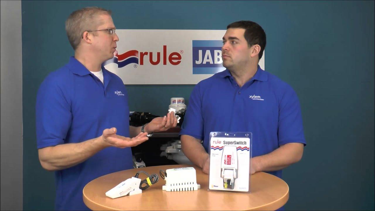 Rule Inside A Float Switch Youtube Bilge Pump Wiring Diagram