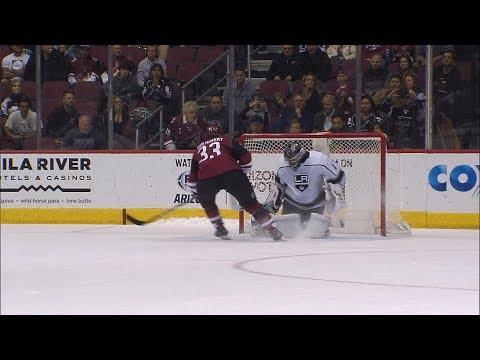 Coyotes topple Kings in shootout