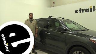 Thule Roof Rack Review - 2013 Hyundai Santa Fe