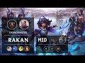 Rakan Mid vs Yasuo - NA Grandmaster Patch 9.20