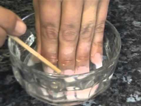 How To Soak Off Nail Extensions Created Using Inverted Moulds