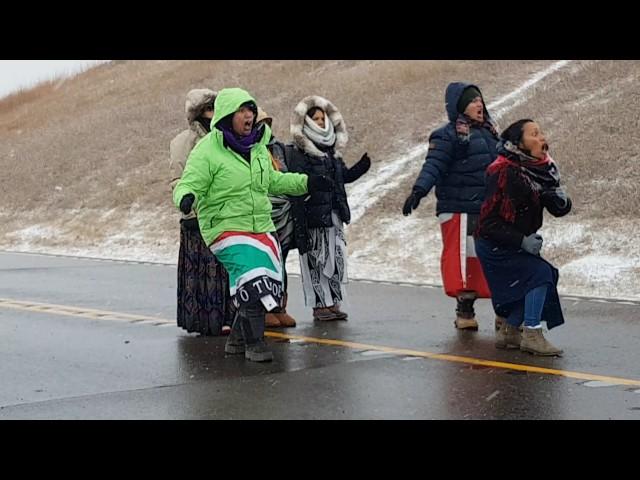 Mana Wahine Haka at Standing Rock - Official