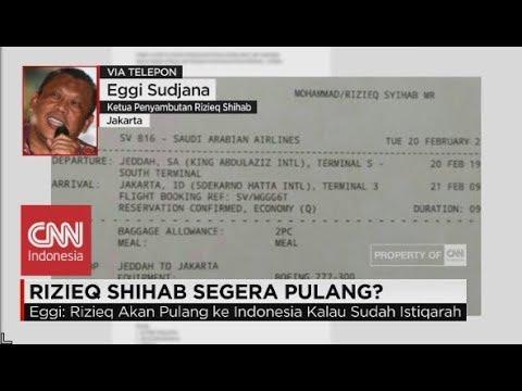 Asli atau Palsu? Tiket Habib Rizieq Shihab Pulang dari Arab Saudi ke Indonesia - Eggi Sudjana Mp3