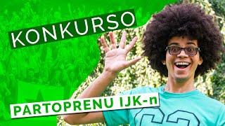 "Konkurso ""Partoprenu IJK-n 2020"" - Ricevu subtenon por partopreni IJK-n en Nederlando!"