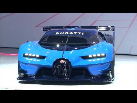 Bugatti at the IAA2015 Volkswagen Group Night