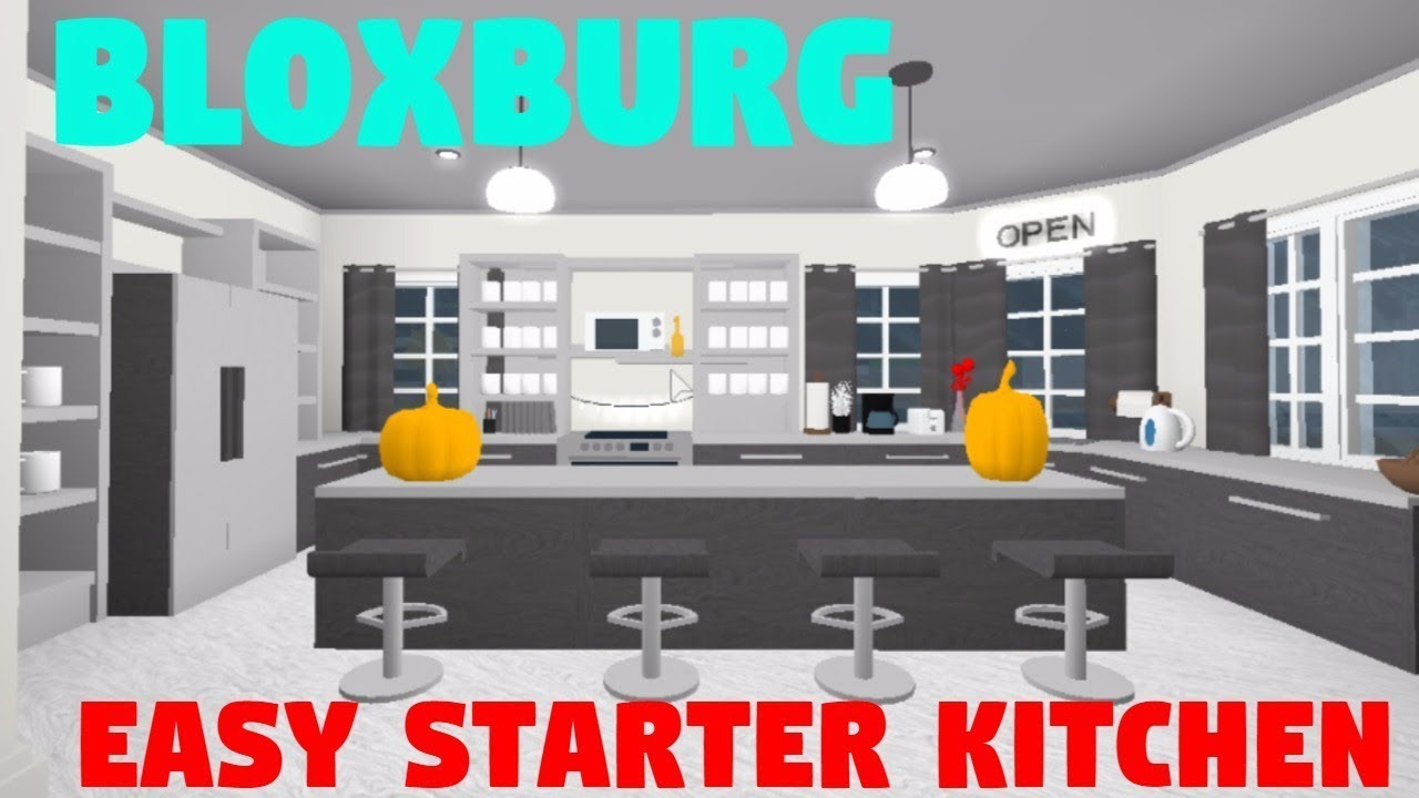 Roblox bloxburg modern kitchen speedbuild 2018songs tk for Kitchen designs bloxburg