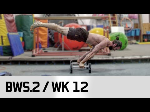 Epic PLANCHE Moment! / STRONGER! BWS.2 / Week 12