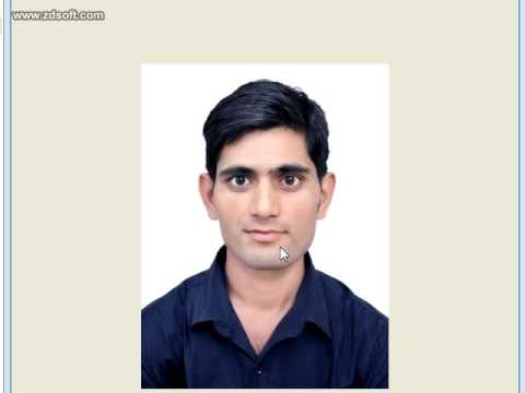 how to resize passport size photo in microsoft office