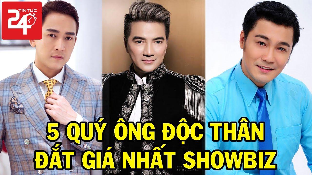 Top 5 Quý Ông  Độc Thân Đắt Giá Nhất Showbiz Việt - Sở Hữu Tài Sản Trăm Tỷ