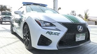 Lexus RC F In Dubai Police Fleet