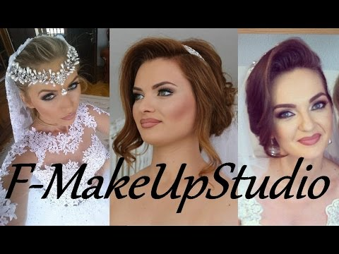 Professional Bridal makeup photos by: F-MakeupStudio