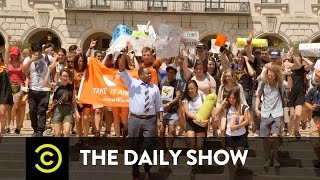 Texas Students Opt For C**cks Not Glocks: The Daily Show