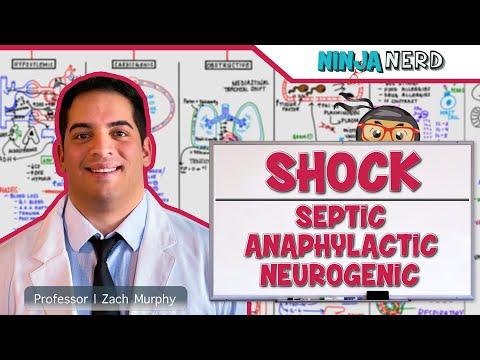 Types of Shock | Septic, Anaphylactic, & Neurogenic Shock | Part 2