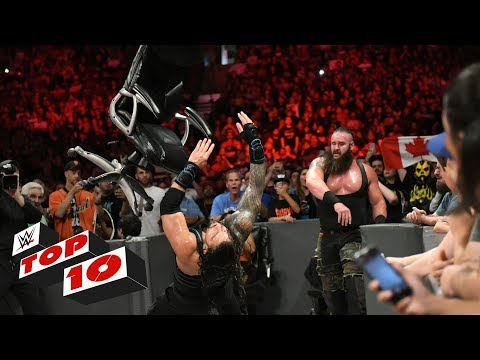 Top 10 Raw Moments: WWE Top 10, August 7, 2017
