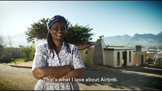 Meet Lillian, a host on Airbnb living in Kayamandi in the Western Cape, South Africa.
