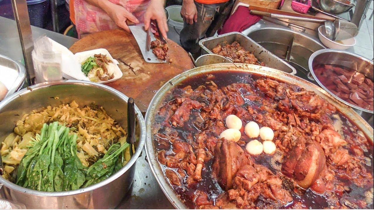 Bangkok Street Food, Thailand. Huai Kwang Night Market