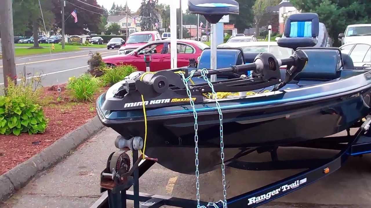 1990 Ranger 482v Bass Boat W Johnson Gt150 V6 Motor