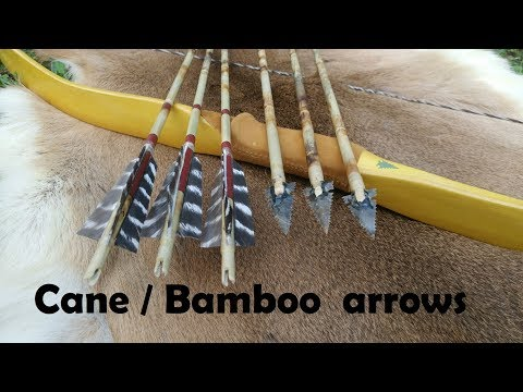 How to build cane / bamboo arrows