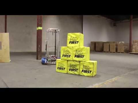 FRC Team 1360 - Robot Reveal 2018: VANGUARD