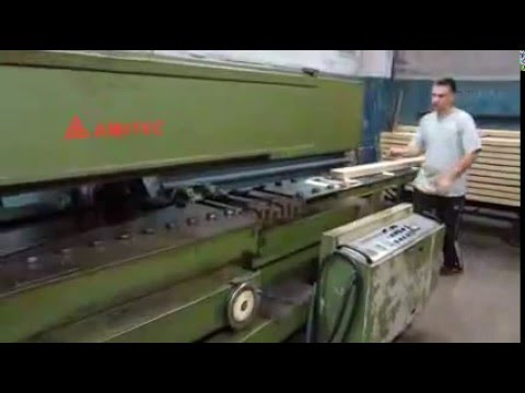 Линия производства строганного шпона - YouTube