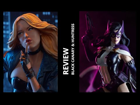 Review - Black Canary and Huntress (Sideshow - Premium Format)