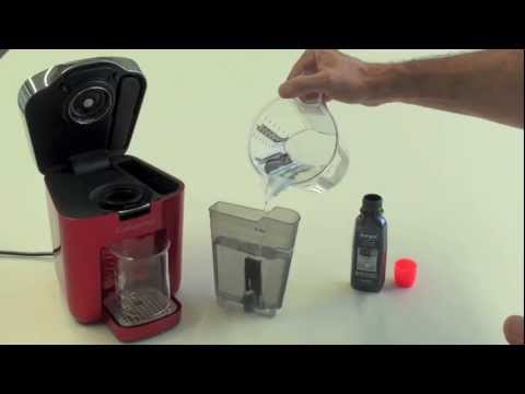 richtige entkalkung einer tchibo cafissimo kaffeemaschine youtube. Black Bedroom Furniture Sets. Home Design Ideas