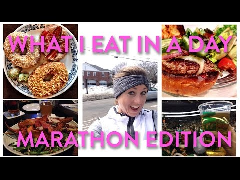 What I Eat In a Day: Marathon Edition