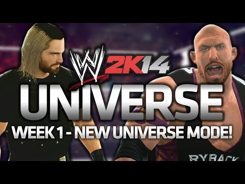 My WWE 2K14 Universe - Week 1 - EPISODE ONE!