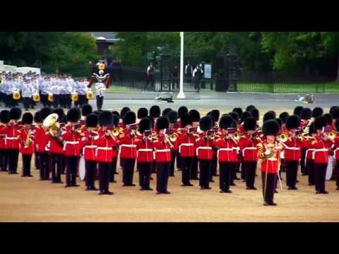 Beating Retreat - Horse Guards Parade - 10 June 2015 - PART 1